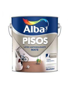 Alba Pisos Latex Acrilico 4 Lts