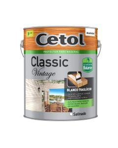 Cetol Classic Vintage Satin.(Blanco)  4 L