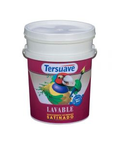 TERSUAVE LAVABLE SATINADO (Blanco) 20 L