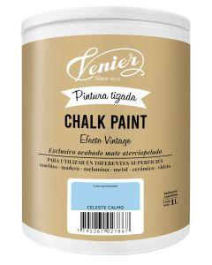 Pintura a la tiza Venier Chalk Paint Celeste Calmo
