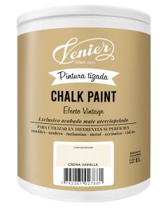 Pintura a la tiza Venier Chalk Paint Crema Vainilla