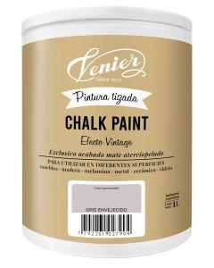 Pintura a la tiza Venier Chalk Paint Gris Envejecido