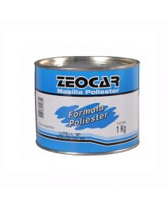 Masilla Zeocar Formula Poliester  0,5 Kg