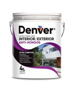 DENVER LATEX EXT.INT.ANTIHONGO  4 L