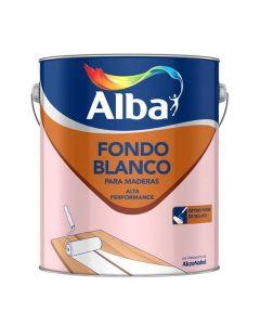 Albalux Fondo Sint.P/Maderas (Blanco)  4 L