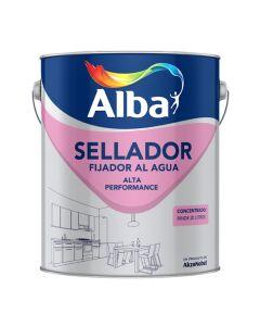 Alba Fijador Sellador Al Agua  4 L