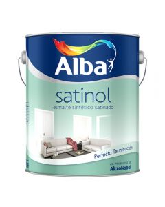 Satinol Esmalte Sintético (Blanco) 4 L