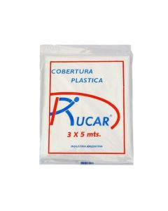 Cobertura Plastica Multiuso Blanca 3 X 3 M