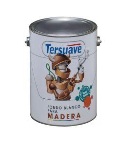 TERSUAVE FONDO p/MADERA (Blanco)  4 L