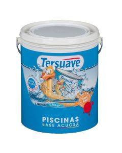 TERSUAVE PISCINAS BASE ACUOSA (Azul)  4 L