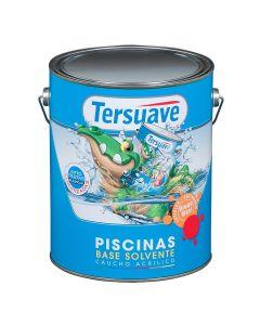 TERSUAVE PISCINAS BASE SOLVENTE 4 Lts Colores
