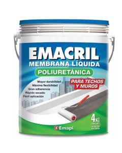 Emacril Poliuretanica 4 Kg Colores