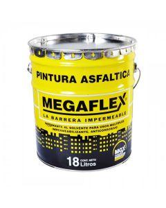 Pintura Asfaltica Secado Rap. Pa18 Megaflex 18 L