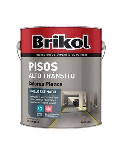 Brik-Col Pisos Alto Transito (Blanco)  4 L