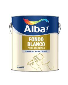 Alba Std Fondo P/Maderas (Blanco)  4 L